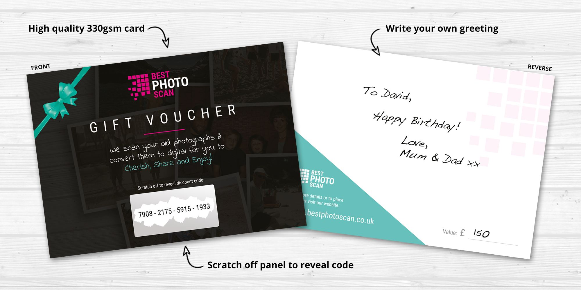 Gift vouchers best photo scan features reheart Image collections